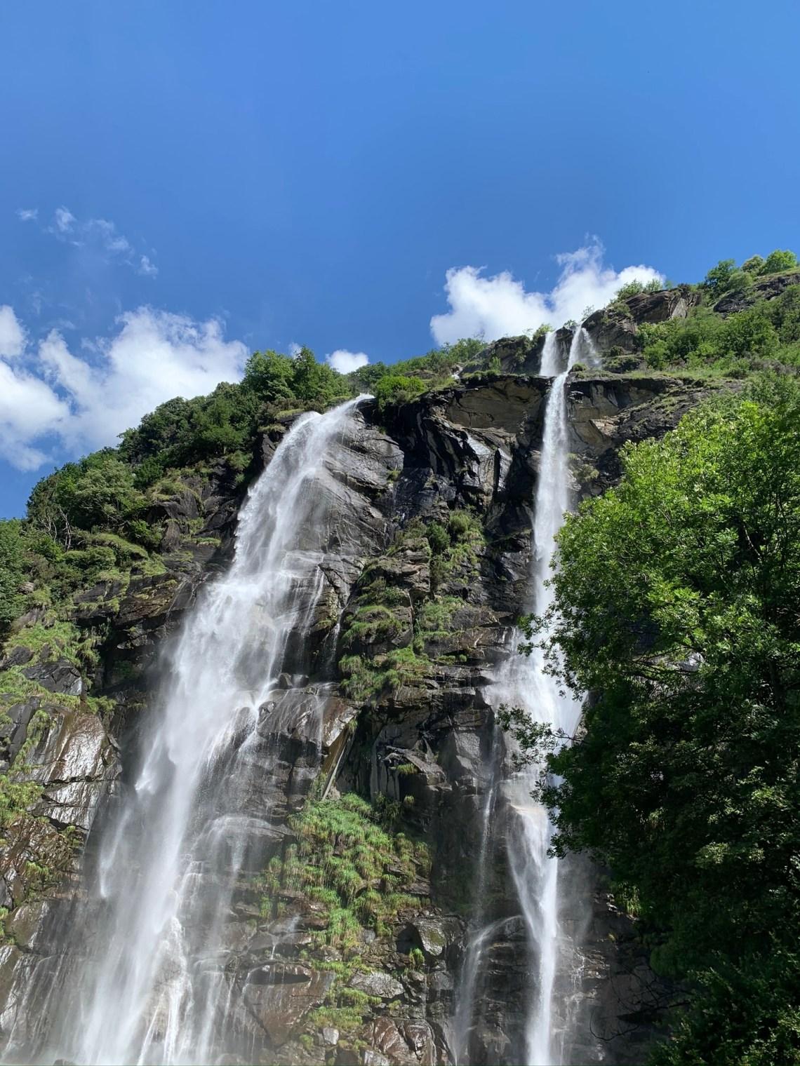 Le cascate dell'Acquafraggia