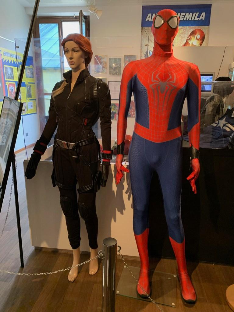 Vedova Nera e Spiderman.
