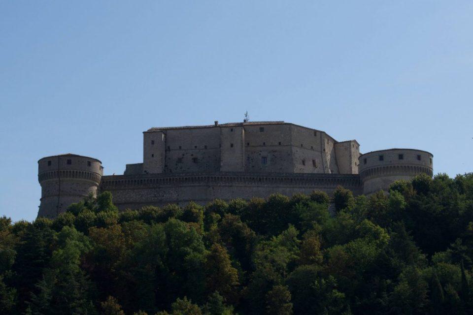 Il Forte di San Leo.
