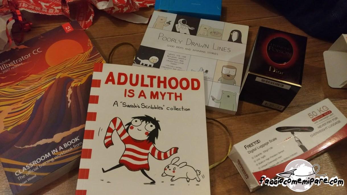 Faccio come mi pare, faccio come mi pare blog, adulthood is a myth, regali di natale, natale all'estero, vivere all'estero