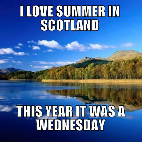 faccio come mi pare, clima in scozia, piove in scozia, fa freddo in scozia, scozia, vivere in scozia