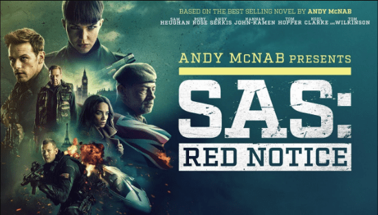 فيلم SAS Red Notice Trailer (2021)