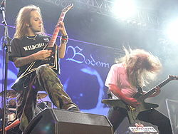 Alexi Laiho of Children of Bodom