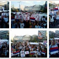 """Београд: Покрети """"Образ"""" и """"Наши"""" позвали грађане да изађу на референдум (ВИДЕО)"""