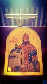 Свети краљ Драгутин као задужбинар храма Св. Ахилија