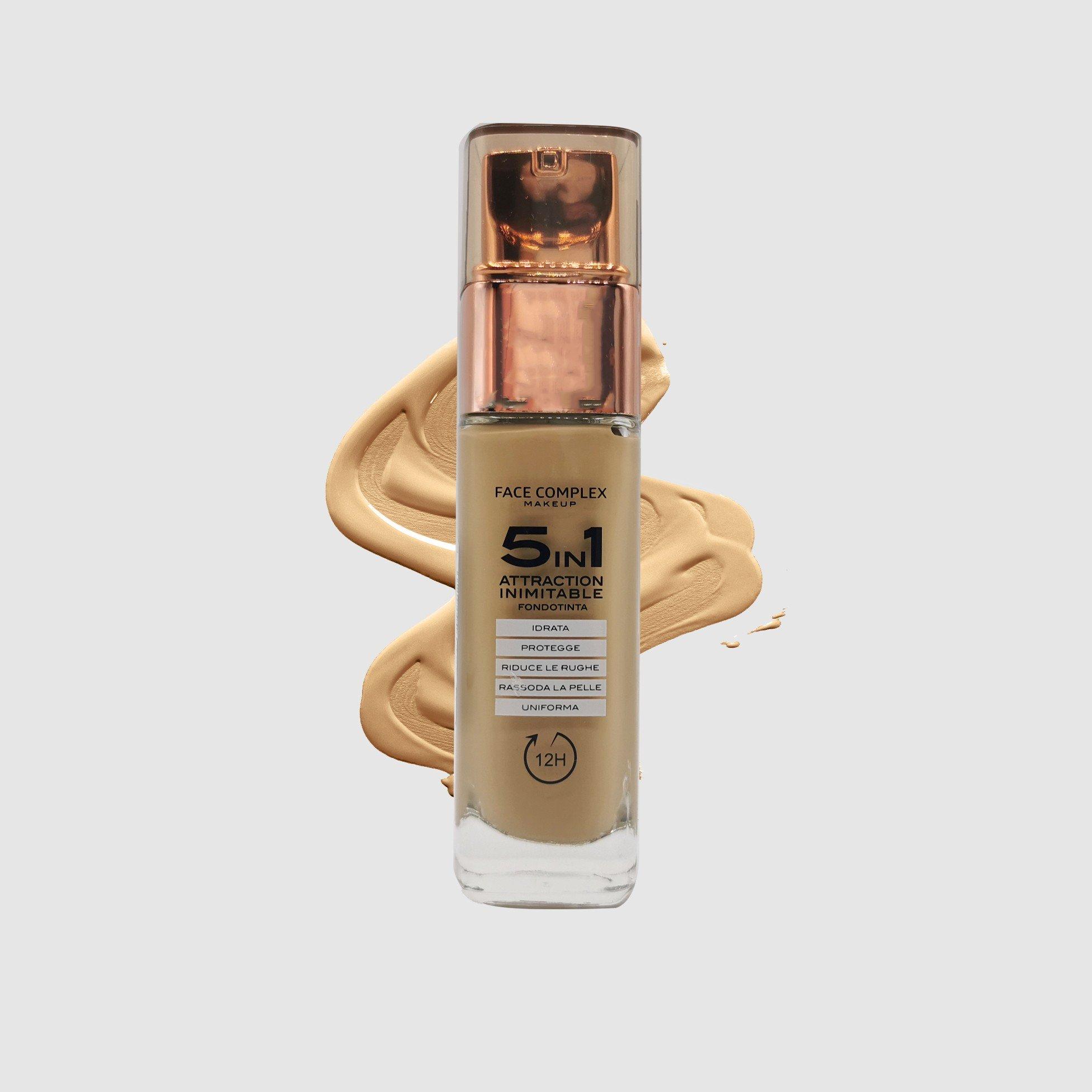 Fondotinta 5 in 1 attraction inimitable Face Complex Cosmetics