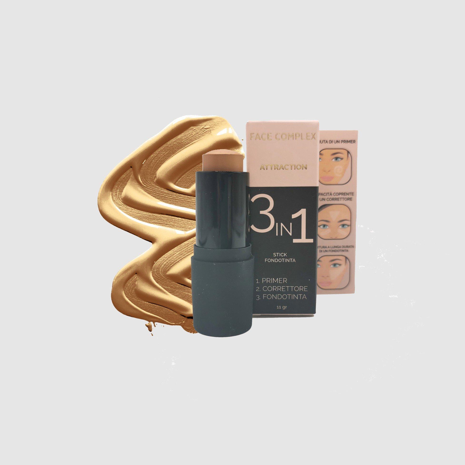 Fondotinta 3in1 Stick 11gr Face Complex Cosmetics
