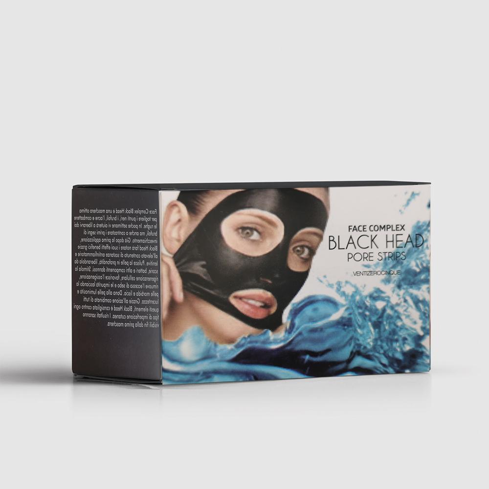 Black Head Pore Strips Disposable Masks pulizia della pelle