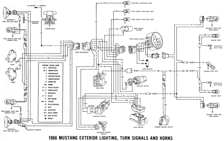 Mustang Alternator Wiring Diagram Sample