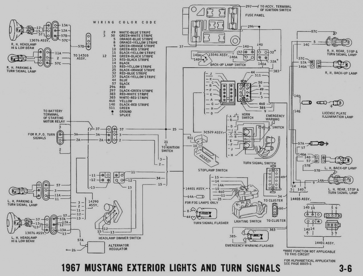 Mustang Alternator Wiring Diagram Sample