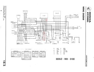 1998 Honda Fourtrax 300 Wiring Diagram Collection | Wiring