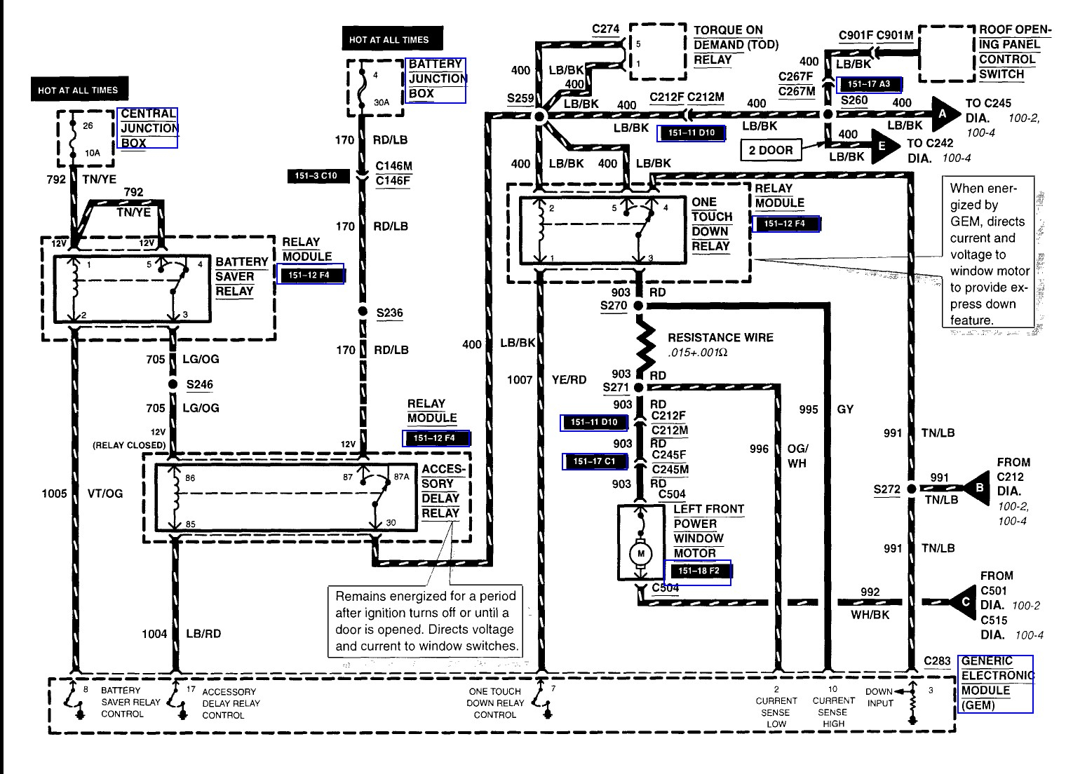 Excursion Radio Diagram