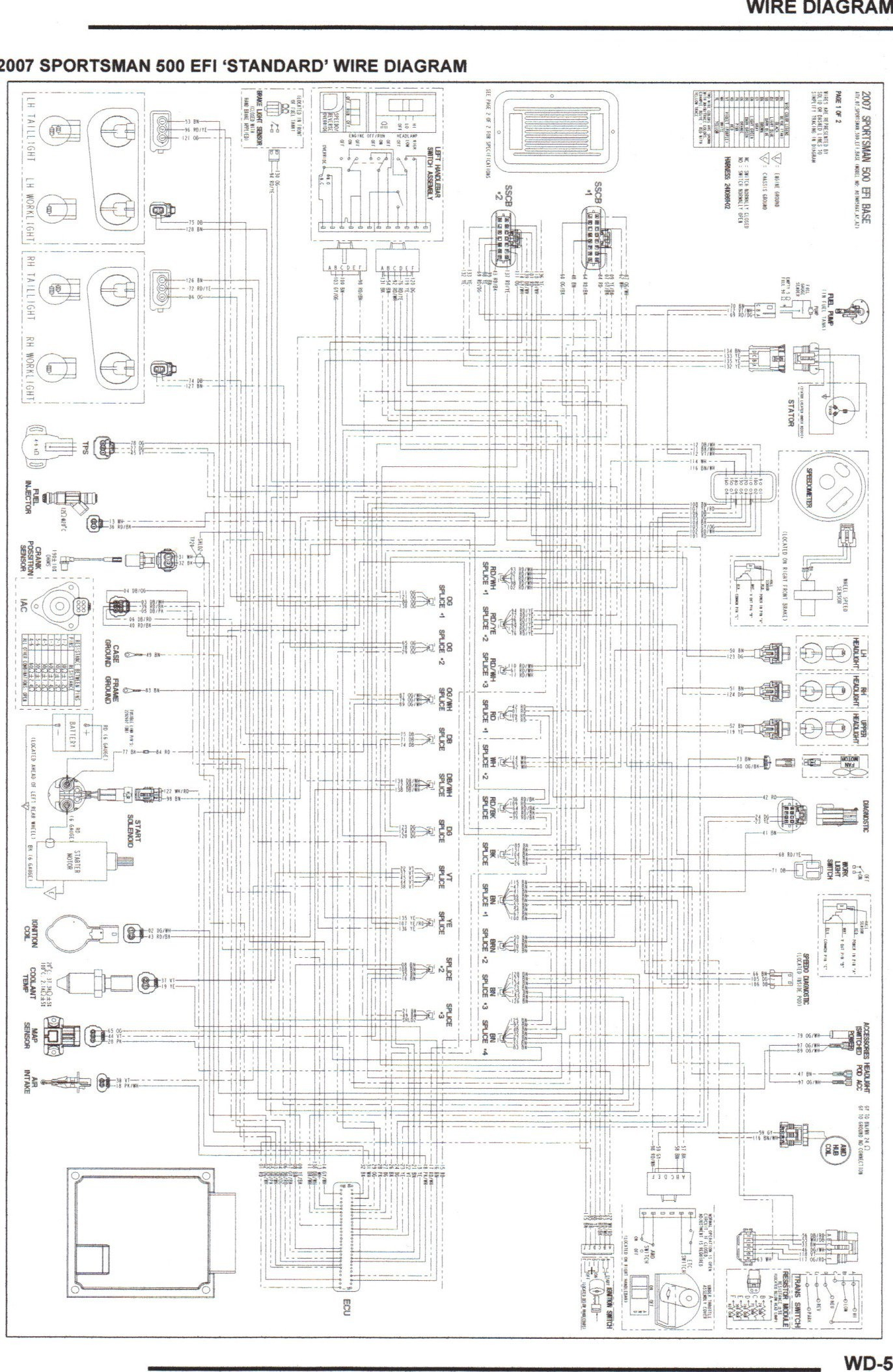 Wiring Schematic For A 2002 Polaris 700 | Wiring Diagram on