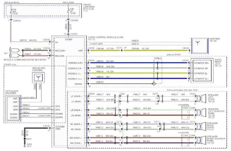 ➤ diagram ford fusion 07 stereo factory wiring diagram myung2007 ford fusion wiring diagram 2016 ford fusion radio wiring