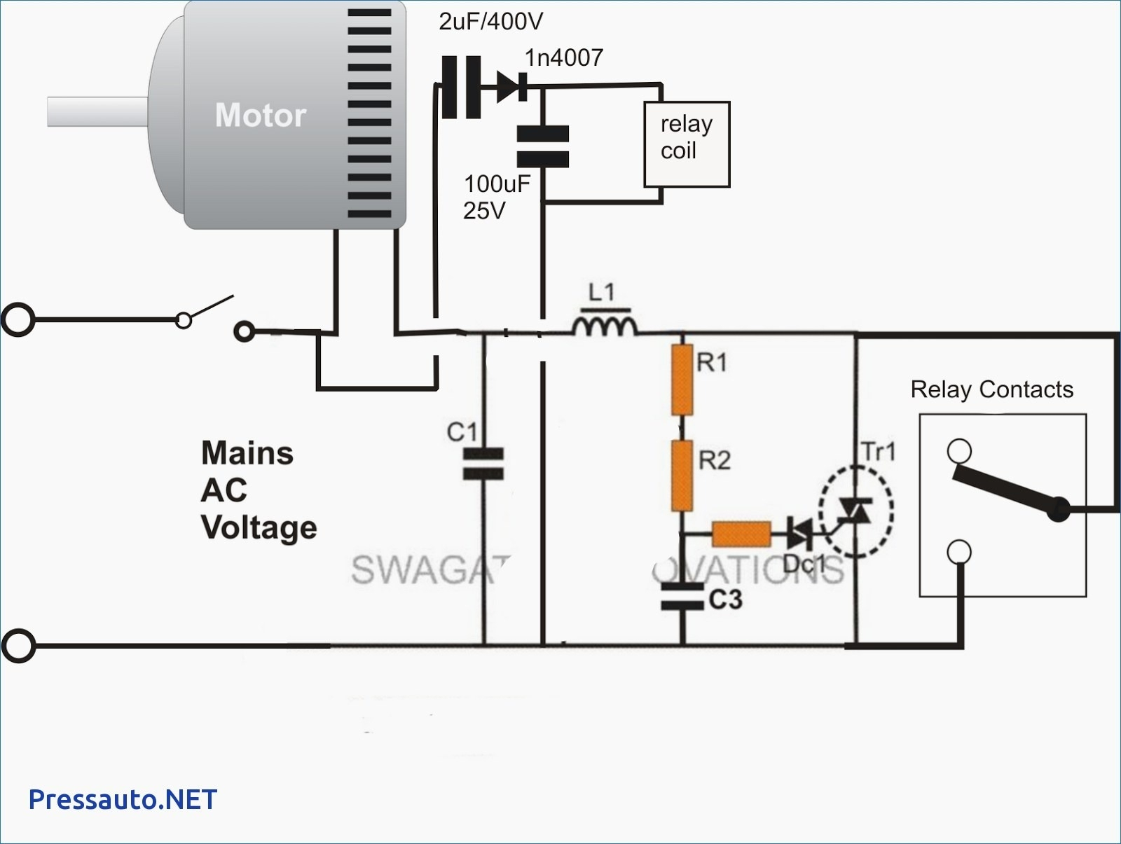 3 Phase Magnetic Starter Wiring
