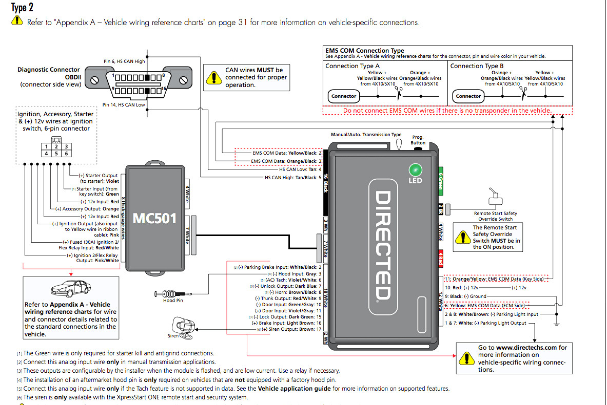 Remote Start Schematic