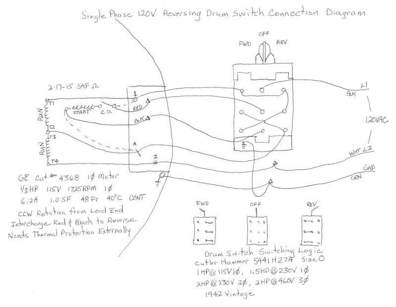 Gear Motor Wiring Diagram