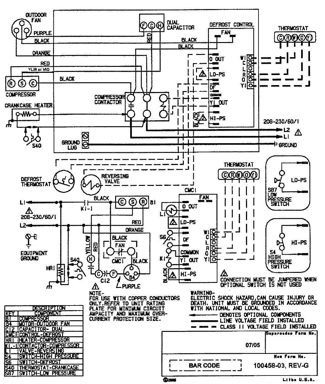 Goettl Heat Pump Wiring Diagram