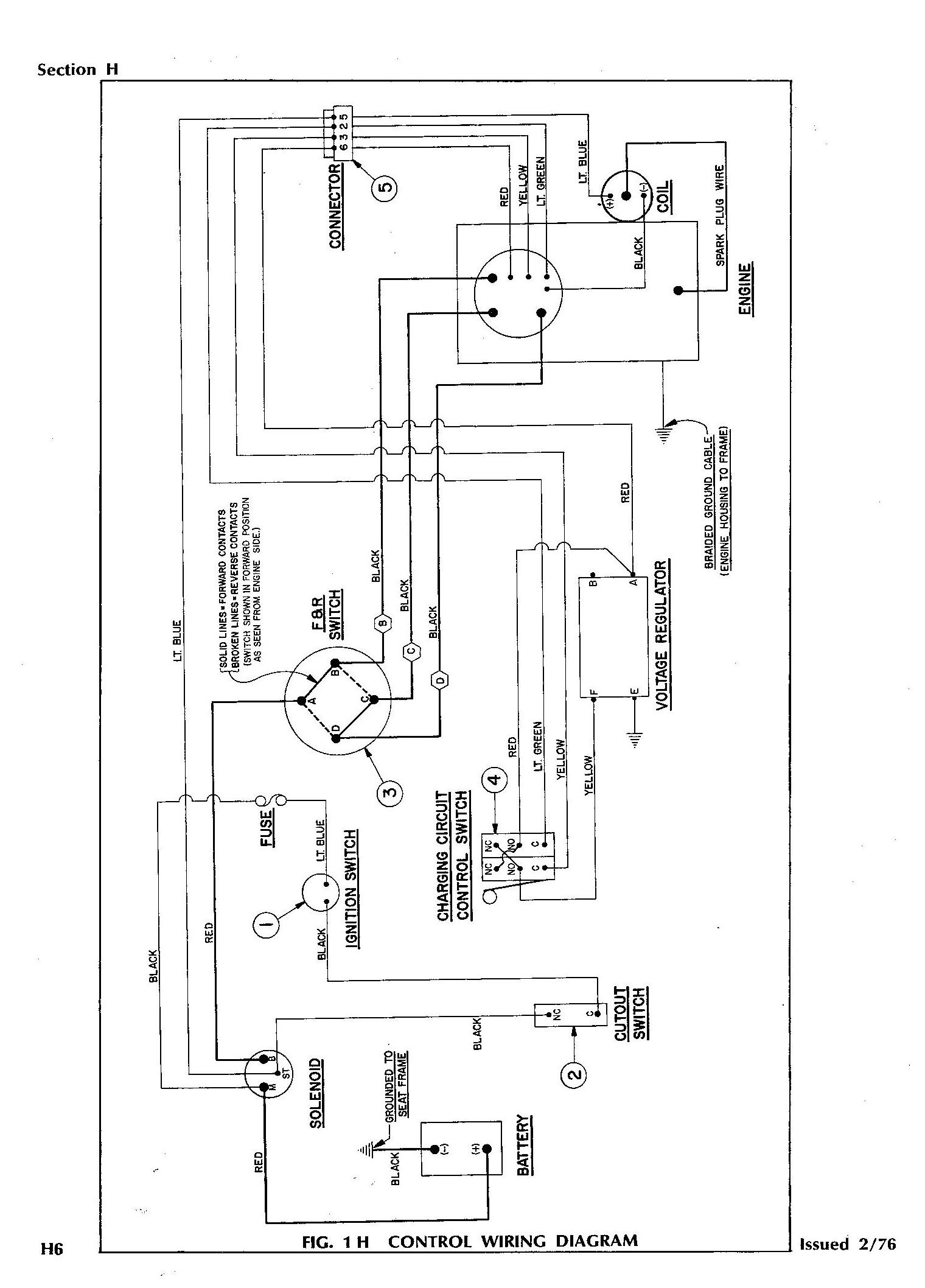 Ezgo Marathon Wiring Diagram 1979 | Wiring Diagram on
