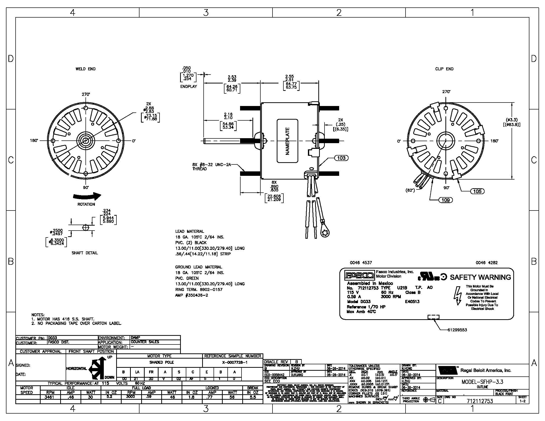 Fasco Wiring Diagrams - Wiring Diagram Liry on