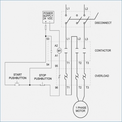 magnetic motor starter wiring diagram motorssite org rh motorssite org