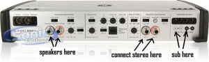 Jl Audio 500 1v2 Wiring Diagram Collection   Wiring