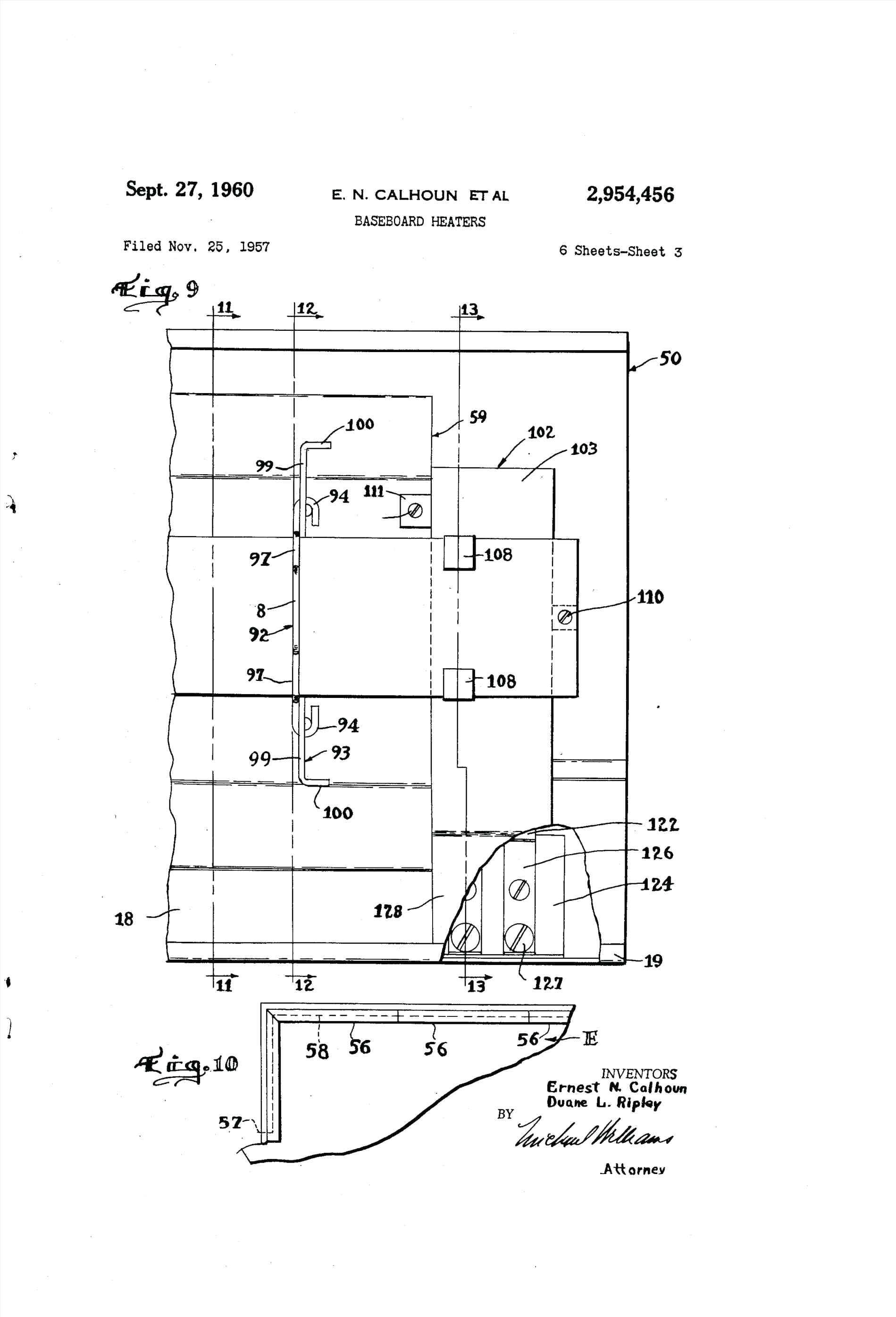 Electric Baseboard Heater Wiring Diagram
