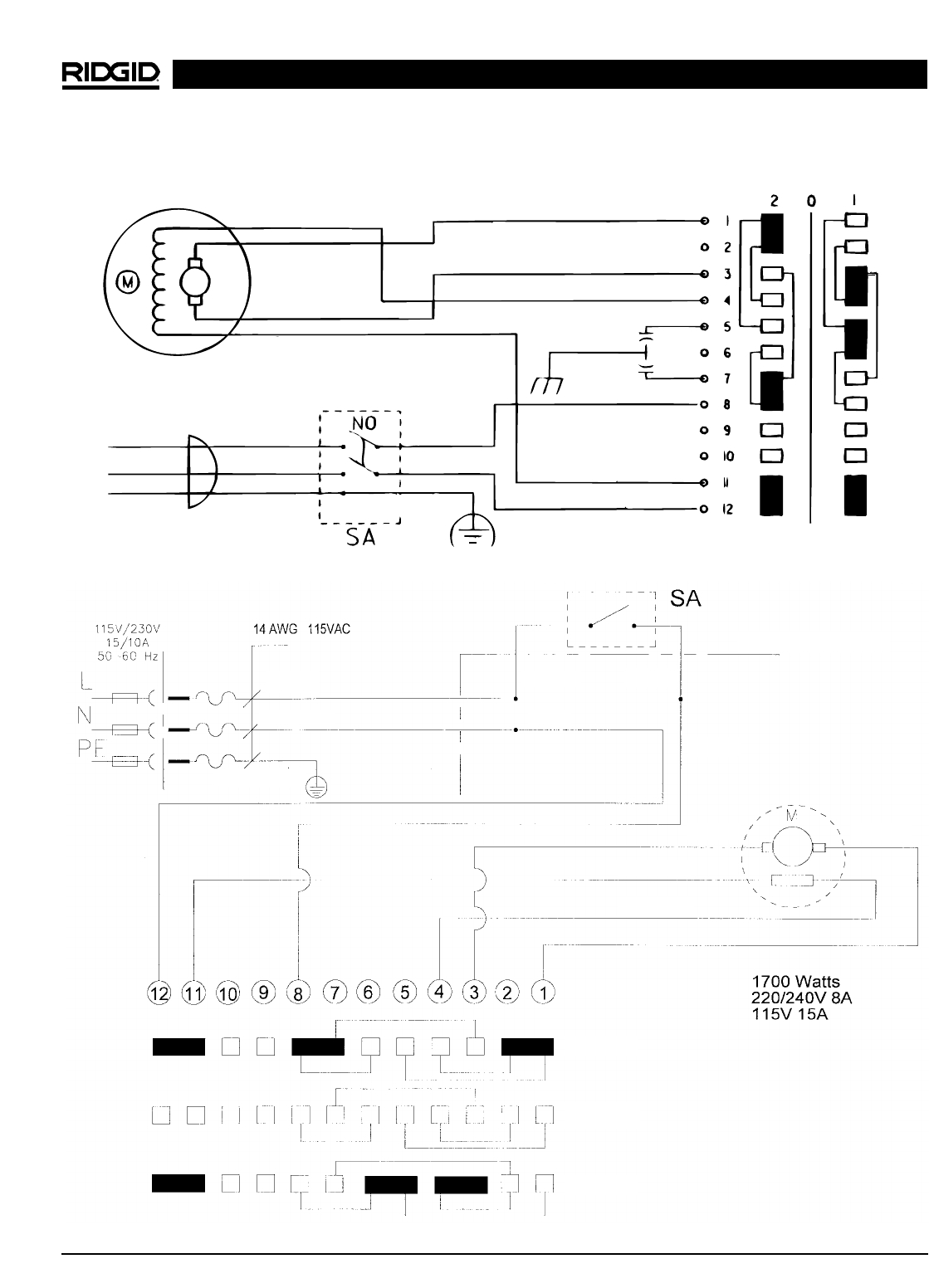 T12 Wiring Diagram