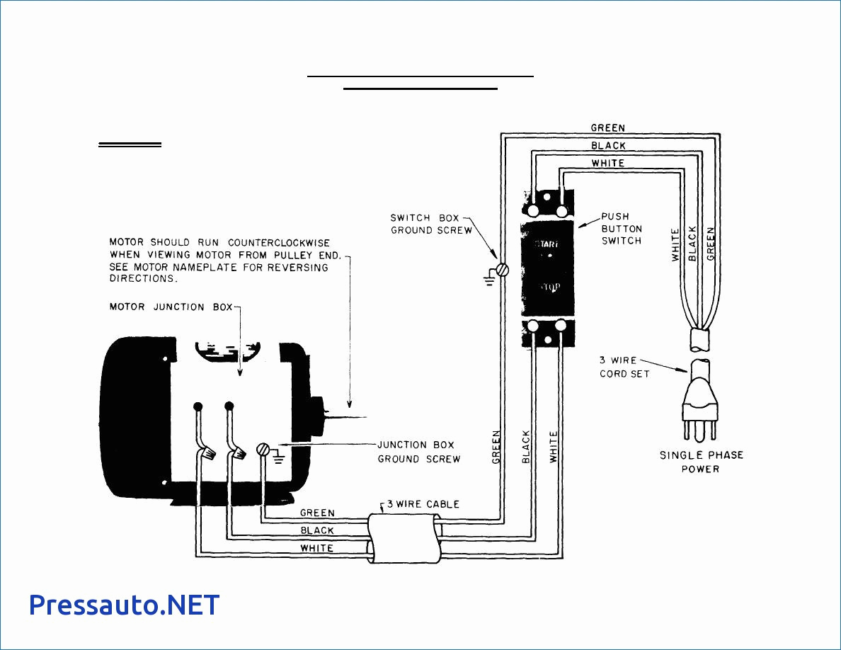Wire Diagram For 120 240v Motor Wiring Schematic Control All Image About And Single Phase Diagrams Water Pump Box