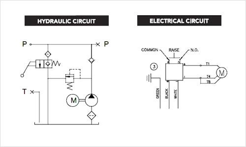 electrical stone hydraulic pump wiring diagram