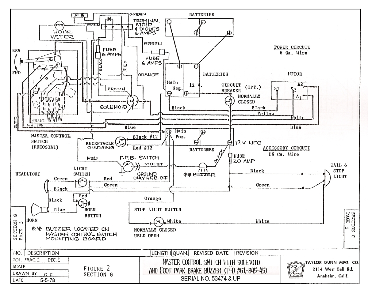 Ezgo Ga Wiring Diagram