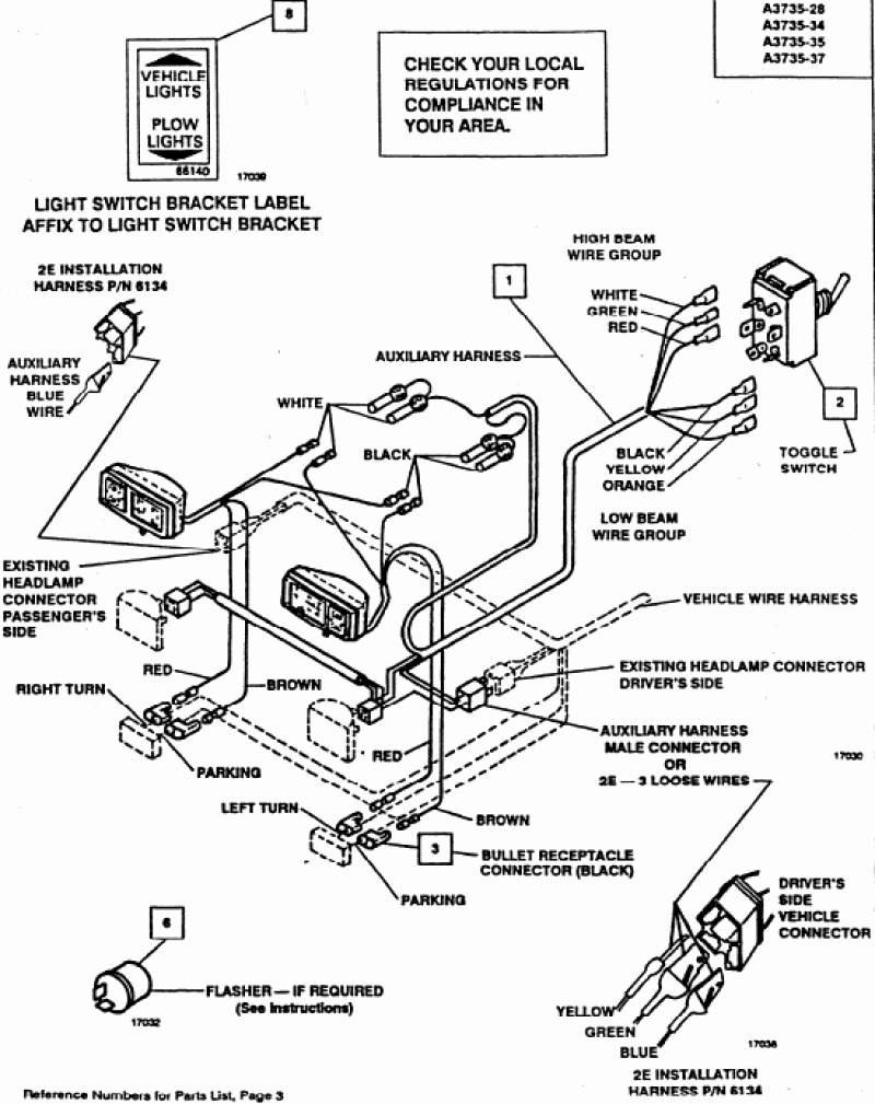 Fisher Snow Plow Wiring Harness Also Western Snow Plow Wiring Diagram