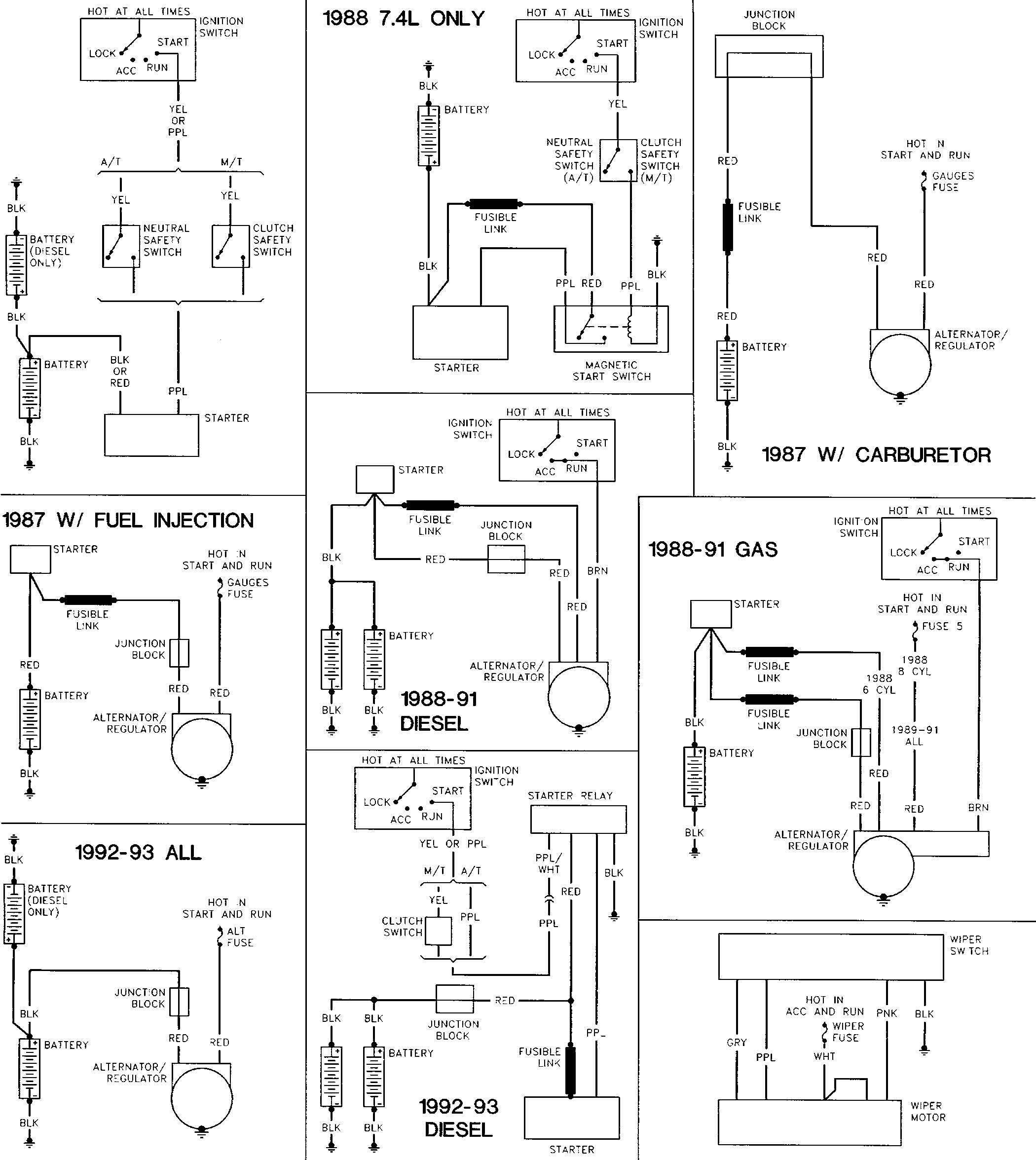 Holiday Rambler Schematics