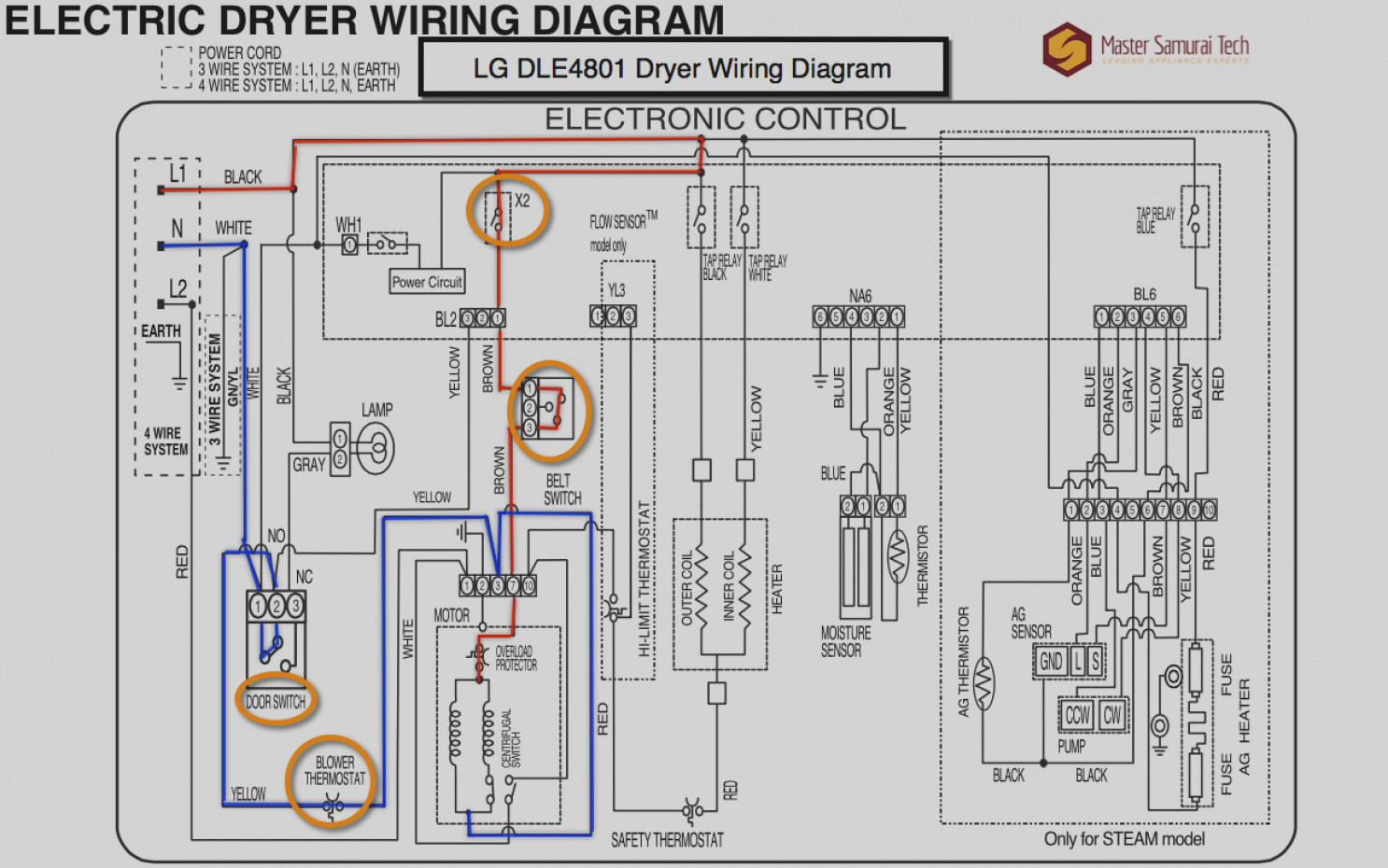wiring diagram for electrolux dryer frigidaire dryer door  whirlpool lgb6200k dryer wiring diagram #13