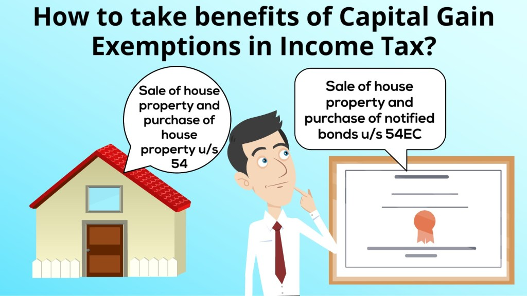 How to take benefits of Capital Gain Exemptions in Income Tax?