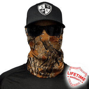 SA Forest Camo Face Shield - Face Mask - One Size
