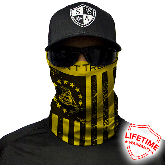 Don't Tread On Freedom Face Shield – Face Mask