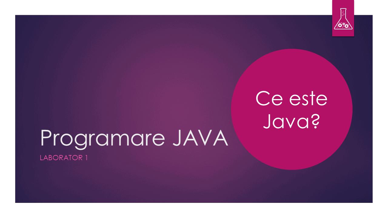 Programare Java - Laborator 1