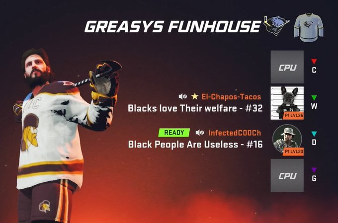 NHL 20 has a racism problem, and EA needs to address it