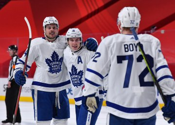 Postgame: Matthews train keeps rolling in win over Habs