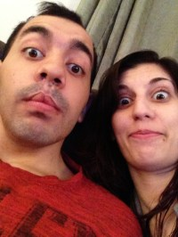 now we are just silly. I'm glad he can still make silly faces!