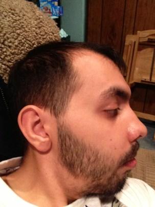 1/23/13= 2 week profile shot!