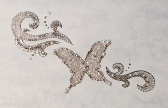 ブライダルボディジュエリー・シールの画像