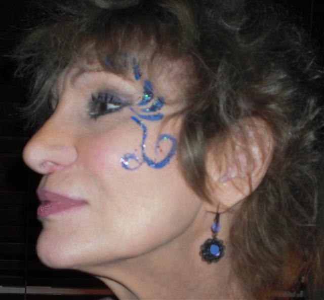 Lisa's Brazilian Blue Butterfly