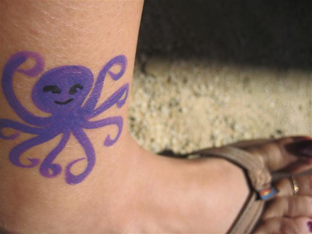 purple octopuss