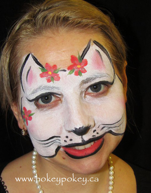 Face Painting Cheek Art Idea
