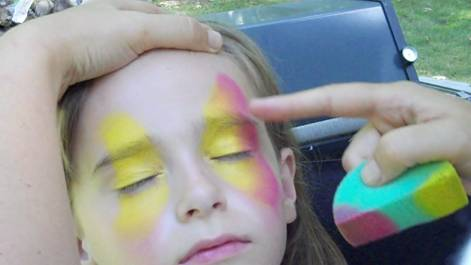 Butterfly Face Painting Design Video Tutorial | Face Paint ...