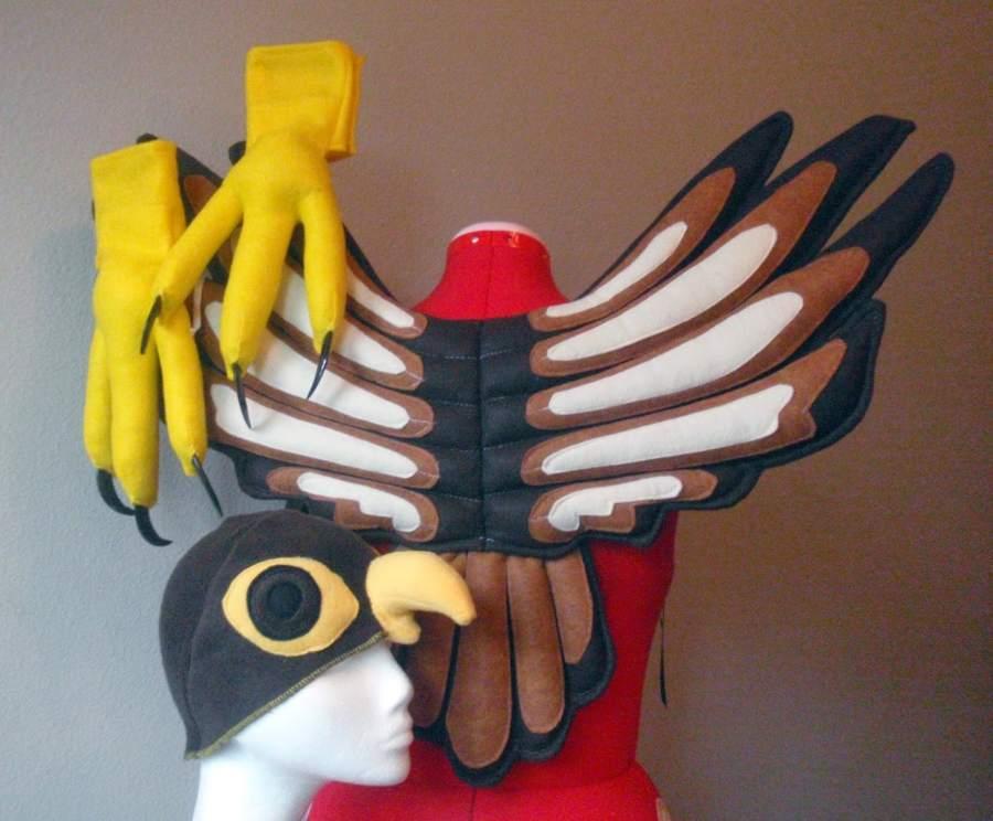 Peregrine Falcon Costume