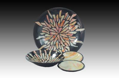 Sunburst Plates