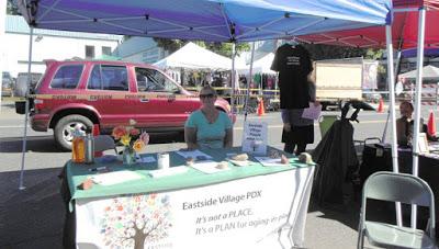 Eastside Village booth